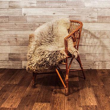 Для дома и интерьера ручной работы. Ярмарка Мастеров - ручная работа Элементы интерьера: Коврик из натуральной овчины. Handmade.
