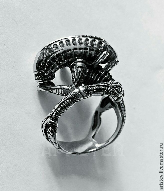 """Ring """"Alien"""", Rings, Moscow, Фото №1"""