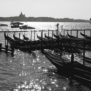 """Картины и панно ручной работы. Ярмарка Мастеров - ручная работа """"Солнце на воде..."""" Авторская фотокартина, Венеция, 2011 г. Handmade."""