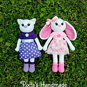 Куклы и игрушки ручной работы. Ярмарка Мастеров - ручная работа Кошечка Модница. Handmade.