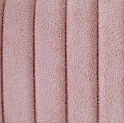 Материалы для творчества ручной работы. Ярмарка Мастеров - ручная работа Шнур регализ замшевый, розовый, 10х7мм. Handmade.