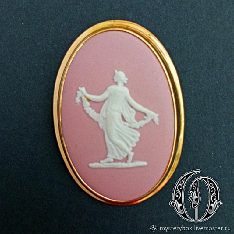Винтаж: Wedgwood Розовый Англия, Кулоны винтажные, Йорк,  Фото №1