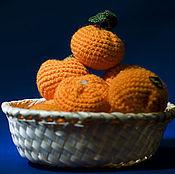 Куклы и игрушки handmade. Livemaster - original item Tangerine knitted. Handmade.