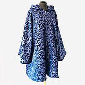 Одежда handmade. Livemaster - original item Coat: velvet elongated. Handmade.