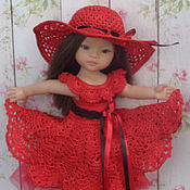 Куклы и игрушки ручной работы. Ярмарка Мастеров - ручная работа Одежда для куклы Paola Reina/Паола Рейна, комплект Домино. Handmade.