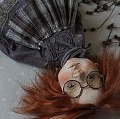 Куклы и игрушки ручной работы. Ярмарка Мастеров - ручная работа Люся кукла будуарная 32 см. Handmade.