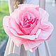 Свадебные цветы ручной работы. Заказать Бумажные розы для романтической фотосессии в пастельных тонах. Семенова Татьяна. Ярмарка Мастеров.