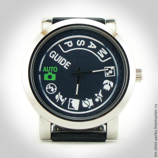 """Часы ручной работы. Ярмарка Мастеров - ручная работа. Купить Часы наручные  """"Время фотосета"""".. Handmade. Часы, фото сессия"""
