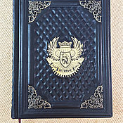 Сувениры и подарки handmade. Livemaster - original item GREAT PEOPLE of the WORLD (gift leather book). Handmade.