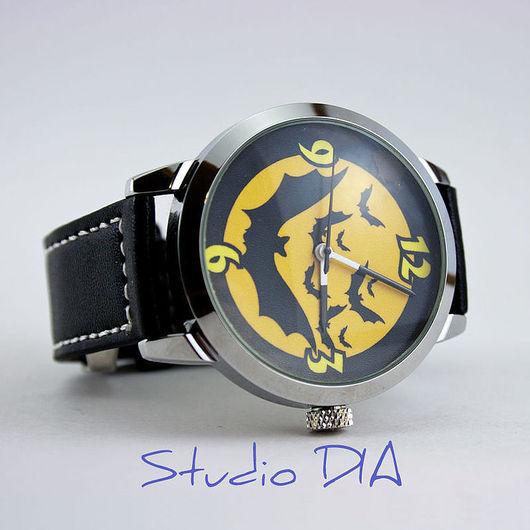 Оригинальные Дизайнерские Часы Хэллоуин Мыши (Helloween). Студия Дизайнерских Часов и Кулон DIA.