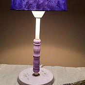 Для дома и интерьера ручной работы. Ярмарка Мастеров - ручная работа настольная лампа (светильник). Handmade.