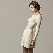 Одежда ручной работы. Ярмарка Мастеров - ручная работа Трикотажное платье Eletto. Handmade.