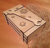 Материалы для творчества ручной работы. Ярмарка Мастеров - ручная работа Ящик для подарков. Handmade.