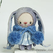 Куклы и игрушки ручной работы. Ярмарка Мастеров - ручная работа Зайка малышка.. Handmade.