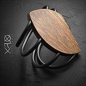 Украшения ручной работы. Ярмарка Мастеров - ручная работа LEAF. Крупный деревянный браслет. Handmade.