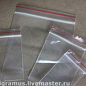 Материалы для творчества handmade. Livemaster - original item Package with Zip-lock (resealable bag). Handmade.