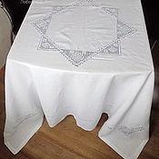 Для дома и интерьера ручной работы. Ярмарка Мастеров - ручная работа Скатерть квадратная  200/200 (+6 салфеток по желанию). Handmade.
