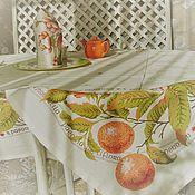 Для дома и интерьера ручной работы. Ярмарка Мастеров - ручная работа Чай с апельсинами - сервировочный комплект. Handmade.