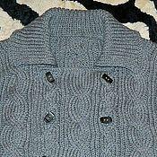 Одежда ручной работы. Ярмарка Мастеров - ручная работа Кардиган мужской. Handmade.