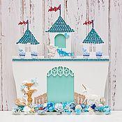 Сувениры и подарки ручной работы. Ярмарка Мастеров - ручная работа Рамка для принца (сыночка)в виде замка. Handmade.