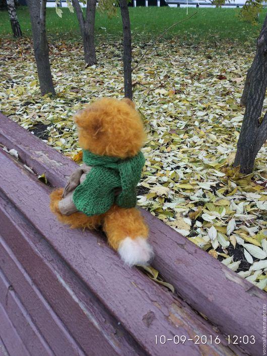 Мишки Тедди ручной работы. Ярмарка Мастеров - ручная работа. Купить Лис Рыжий Лист. Handmade. Рыжий, осень