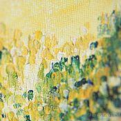 """Картины и панно ручной работы. Ярмарка Мастеров - ручная работа Картина маслом """"Летний лес"""". Handmade."""
