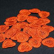 Материалы для творчества handmade. Livemaster - original item Embroidery applique patch sharm small heart FSL lace free. Handmade.