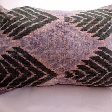 Для дома и интерьера handmade. Livemaster - original item Decorative pillow case made of Uzbek silk. Handmade.