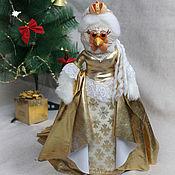 Куклы и игрушки ручной работы. Ярмарка Мастеров - ручная работа Императрица. Петух (курица) - символ 2017 года. Авторская кукла. Handmade.