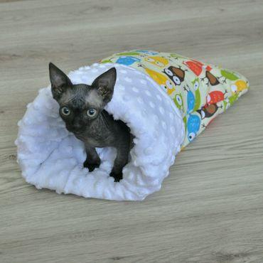 Товары для питомцев ручной работы. Ярмарка Мастеров - ручная работа Домик - мешок для сфинкса, для кошки, для маленькой собачки. Handmade.
