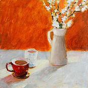 Картины и панно ручной работы. Ярмарка Мастеров - ручная работа Оранж. Handmade.