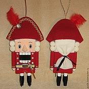 Куклы и игрушки ручной работы. Ярмарка Мастеров - ручная работа Щелкунчик игрушка кукла. Handmade.