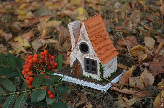 """Освещение ручной работы. Ярмарка Мастеров - ручная работа. Купить Светильник """"Лесной домик"""". Handmade. Разноцветный, картонаж, фоамиран"""