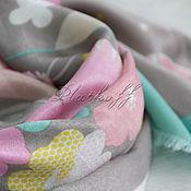 Аксессуары handmade. Livemaster - original item The floral handkerchief in explanation Louis Vuitton
