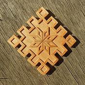 Русский стиль ручной работы. Ярмарка Мастеров - ручная работа Алатырь - магнит на холодильник. Handmade.