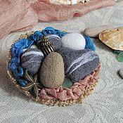 Украшения handmade. Livemaster - original item Brooch sea glass. Handmade.