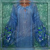 Одежда handmade. Livemaster - original item The blouse is embroidered. Boho.. Handmade.