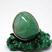 Украшения handmade. Livemaster - original item A ring with a beryl Green, silver. Handmade.