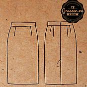 Материалы для прямой юбки
