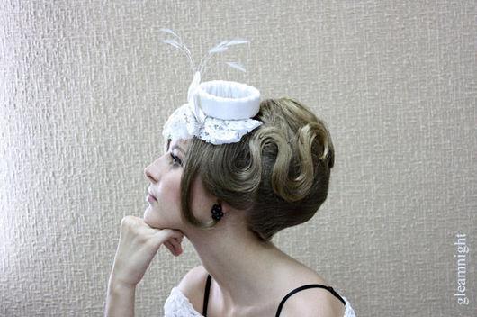 Clothing & Accessories handmade. Livemaster - handmade. Buy Wedding hat.Hats, prom 2015