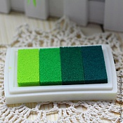 Материалы для творчества handmade. Livemaster - original item Ink pads for scrapbooking (gradient), 6 colors. Handmade.