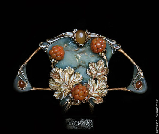 Комплекты украшений ручной работы. Ярмарка Мастеров - ручная работа. Купить La chicoute. Ensoleille ambre. Handmade. Рыжий, ягода