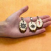 Сумки и аксессуары handmade. Livemaster - original item A keychain made of elk horn cuts.. Handmade.