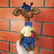Куклы и игрушки ручной работы. Ярмарка Мастеров - ручная работа Жираф Владимир. Handmade.