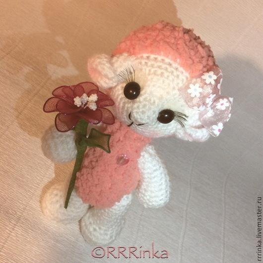 Игрушки животные, ручной работы. Ярмарка Мастеров - ручная работа. Купить Овечка Лили. Handmade. Розовый, овечка в подарок
