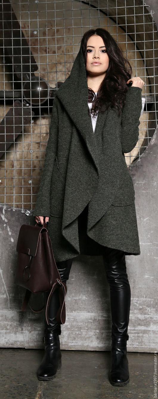 Верхняя одежда ручной работы. Ярмарка Мастеров - ручная работа. Купить Пальто Street Fashion. Handmade. Пальто, модное пальто