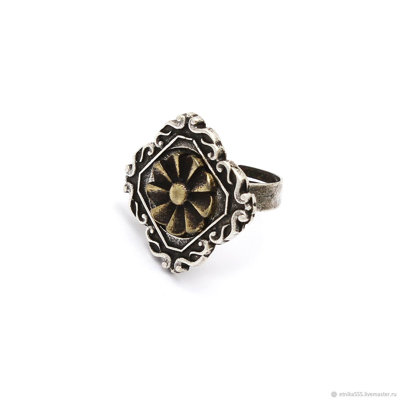 Enfilade ring with bronze insert, Rings, Belaya Cerkov,  Фото №1