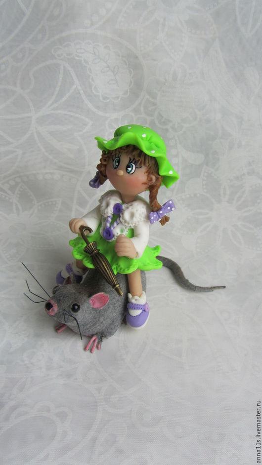 Коллекционные куклы ручной работы. Ярмарка Мастеров - ручная работа. Купить «Вот такая боевая, вот такая озорная!..». Handmade.