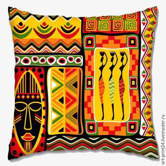 Текстиль, ковры ручной работы. Ярмарка мастеров - ручная работа. Купить декоративная подушка. Handmade. №1