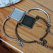 Материалы для творчества handmade. Livemaster - original item Base for the bracelet, 20 mm Art. OB36. Handmade.